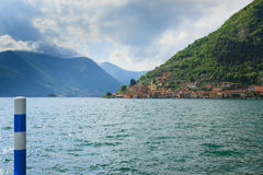 Lake panorama from Stock Images