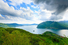 Lake panorama from Stock Photography