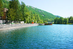 Lake in park Royalty Free Stock Photography