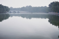 The lake. In the park Royalty Free Stock Photo