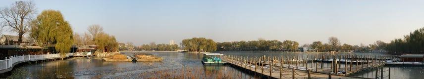Lake park,Beijing, stock photography