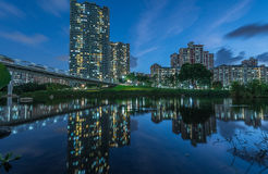 Lake Park, Bishan Lake Stock Photos