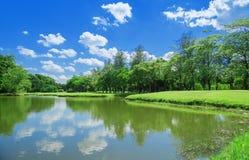 Lake Park Garden Stock Images