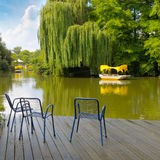 Lake in park Royalty Free Stock Photo