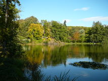 Lake in the park Royalty Free Stock Photos