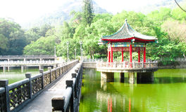 The Lake Pavilion Royalty Free Stock Photo