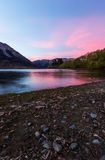 Lake Pearson Arthur's pass National Park, New Zealand Royalty Free Stock Images