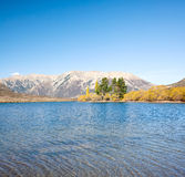 Lake Pearson Arthur's pass New Zealand Royalty Free Stock Photos