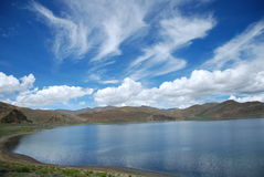 Lake peiku. The highest in the world the most beautiful lake Royalty Free Stock Images