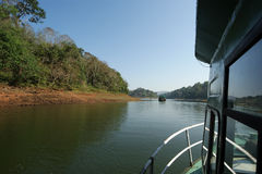 Lake, Periyar National Park Royalty Free Stock Image