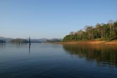 Lake, Periyar National Park, Kerala, India Stock Image