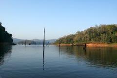 Lake, Periyar National Park, Kerala, India. Lake-- Periyar National Park, Kerala, India Stock Photos