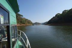 Lake, Periyar National Park, Kerala, India Royalty Free Stock Images