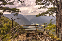 Lake Perucac in Serbia Stock Photos