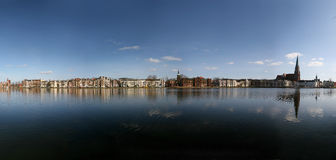 Lake Pfaffenteich in Schwerin, Germany Stock Photos