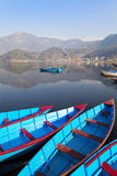 Lake Phewa, Pokhara, Nepal Royalty Free Stock Photo