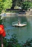 Lake Phewa, Pokhara, Nepal royalty free stock images