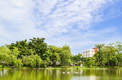 Lake in Phra Nakorn Park Royalty Free Stock Photography