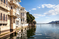 Lake Pichola in India Royalty Free Stock Photo