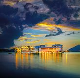 Lake Pichola and Taj Lake Palace , Udaipur, Rajasthan, India Stock Image