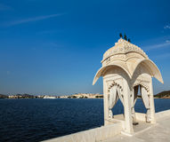 Lake Pichola. Udaipur, Rajasthan, India Stock Image
