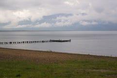 lake pier Στοκ φωτογραφίες με δικαίωμα ελεύθερης χρήσης