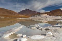 Lake of Pierdras Rojas Royalty Free Stock Images