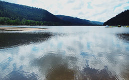 Lake of Pierre-Perce, France. Royalty Free Stock Images