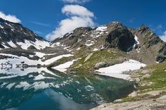 Lake Pietra Rossa, Italy Stock Photo