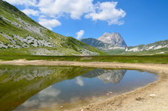 Lake of Pietranzoni Stock Image