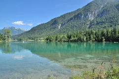 Lake Pillersee, Tirol, Österrike Royaltyfria Bilder