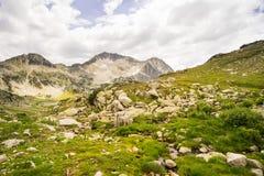 Lake on Pirin Mountain Royalty Free Stock Images