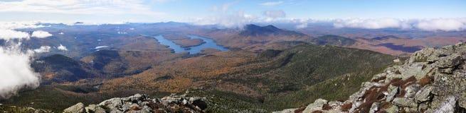 Lake Placid и гора Whiteface, Нью-Йорк стоковые изображения rf