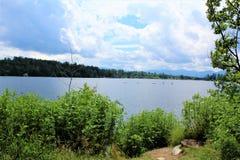 Lake Placid Stock Afbeelding