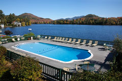 Lake Placid, Adirondack Mountains Stock Photos