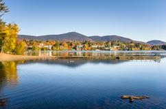 Lake Placid im Herbst Lizenzfreie Stockfotos