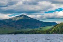 Lake Placid the landmark of New York state Royalty Free Stock Photo