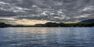 Lake Placid the landmark of New York state Royalty Free Stock Photography