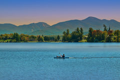 Lake Placid, New York Photographie stock