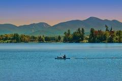 Lake Placid, New York stockfotografie