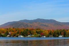 Lake Placid Nowy Jork Zdjęcie Royalty Free
