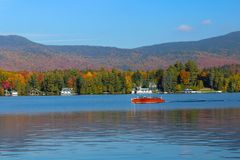 Lake Placid Royalty Free Stock Photography