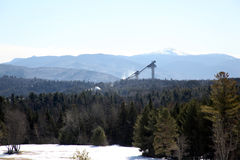 Lake placid ski jump2 Royalty Free Stock Images
