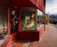 Lake Placid Ski Shop Lizenzfreie Stockfotos