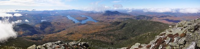 Lake Placid und Whiteface-Berg, New York Lizenzfreie Stockbilder