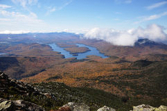 Lake Placid and Whiteface Mountain Royalty Free Stock Photo