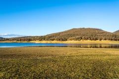 Lake Plastira at central Greece Royalty Free Stock Photos