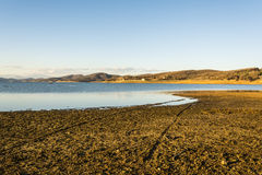 Lake Plastira at central Greece Stock Images