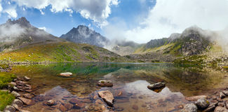 Lake on a plateau on Kackar Mountains in the Black Sea Region, Turkey Royalty Free Stock Photo
