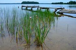 Lake Plateliai Stock Photography